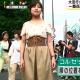 【めざましテレビ】脚長ファッションが今の流行!コルセットベルトが大人気!