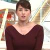 【めざましテレビ】永島アナのニット姿がえっろいと話題!【デカイ】