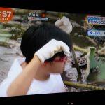 【めざましテレビ】新人・藤井アナ体当たり中継ww泥にまみれて春日化w【野生レンコン掘り】
