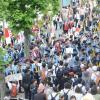 川崎のヘイトデモ、出発直後に数百人に囲まれ即中止に!