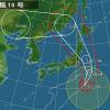 台風10号のコラ台風進路予想図が出回り、デマが拡散されてネットも大荒れ